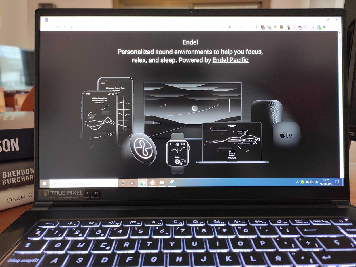 Web de Endel para el post sobre herramientas digitales del ITO