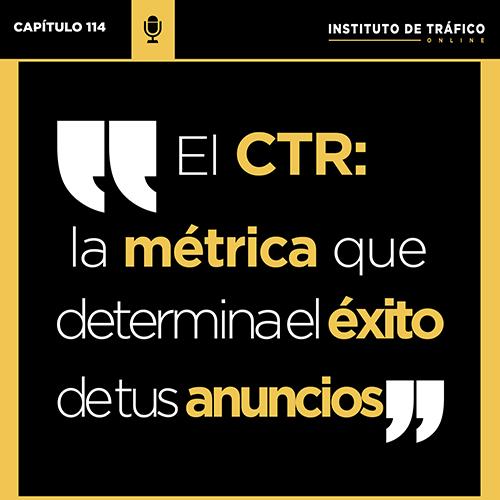 Cover del pódcast del ITO sobre CTR