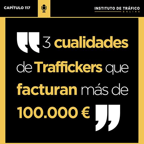 cover para pódcast sobre cualidades Traffickers del ITO